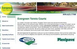 Evergreen Tennis Courts, Inc.