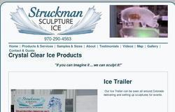 Struckman Sculpture Ice